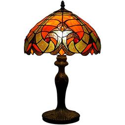 Tiffany style LIAISON table lamp light S160R series 18 inch