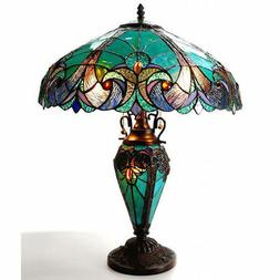 "Chloe Lighting Tiffany Roosevelt Victorian 26"" H Table Lamp"