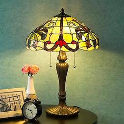 Tiffany Style Lamp Swirling Shells Desk Lamp Baroque Jeweled