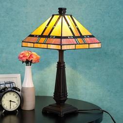 Cloud Mountain Tiffany Style Table Lamp Home Office Décor M