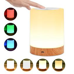 UNIFUN Touch Lamp, Table Bedside Lamps for Bedrooms Living R