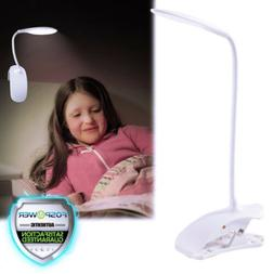 USB Clip-on Table Desk Bed Piano Reading Light Desk Lamp War