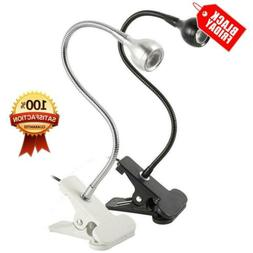 usb flexible reading led light clip on