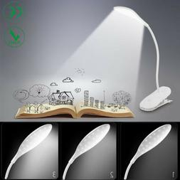 USB Rechargeable Touch Sensor Cordless LED Desk Table Readin
