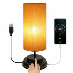 usb touch control table lamp minimalist bedside