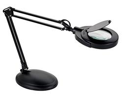 V-LIGHT Energy Saving 4.8W LED Magnifier Task Lamp with 3 Di