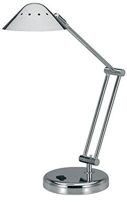 V-LIGHT Halogen Desk Lamp with 3-Point Adjustable Arm and Di