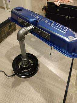 Valve Cover Desk Lamp Power by FORD Handmade Steampunk Car P