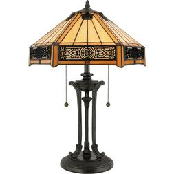Victorian Tiffany Style Table Lamp