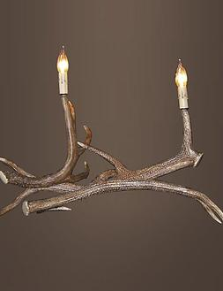 SSBY vintage Table Lamps country Antler lamps Industrial Fix