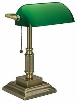 Vintage Traditional Style Bankers Desk Lamp Home Desk With G