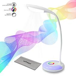 PARTYSAVING Wireless Rechargeable LED Desk Lamp with Color C