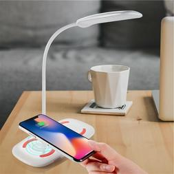 Wirless charger pad Desk Lamp 2in1For iPhone 7,8,X,Max ,11 ,