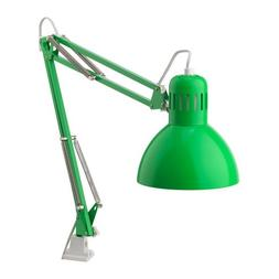 Ikea Work lamp with LED bulb, green 2028.232020.2618