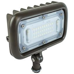 Newhouse Lighting WW30BRZ 30-Watt Outdoor LED Wall Wash Floo